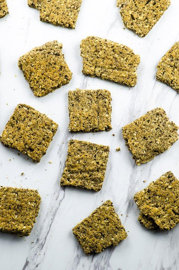 Vegan Protein Crackers
