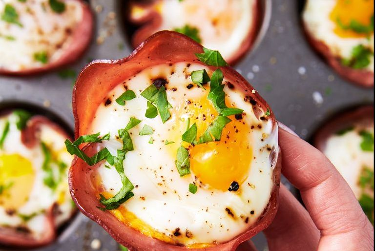 Ham and Cheese Egg Cup