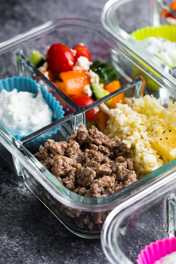 Greek Turkey Meal Prep