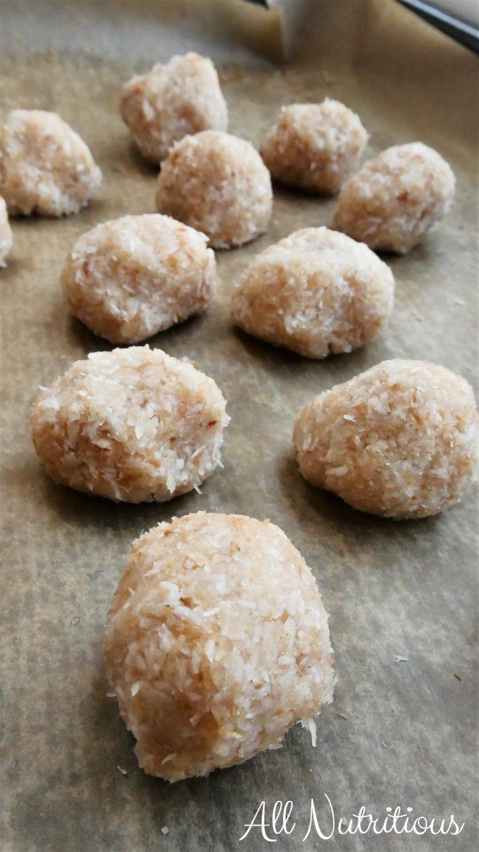 shredded coconut treats