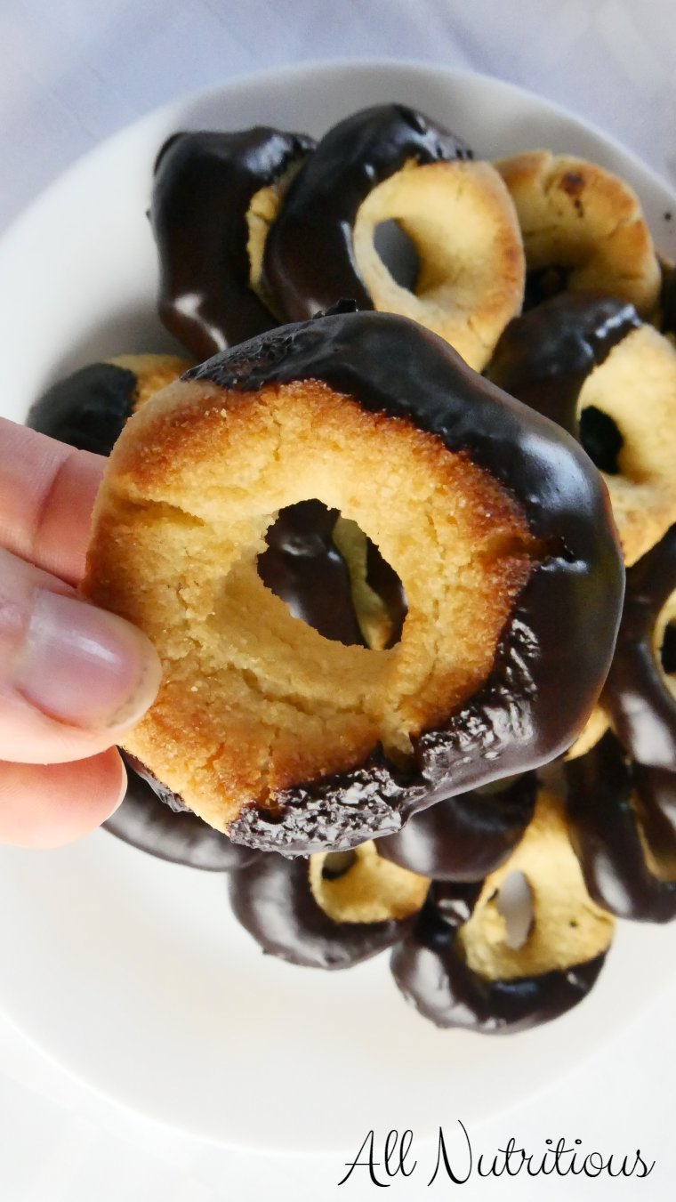 low carb doughnut cookies