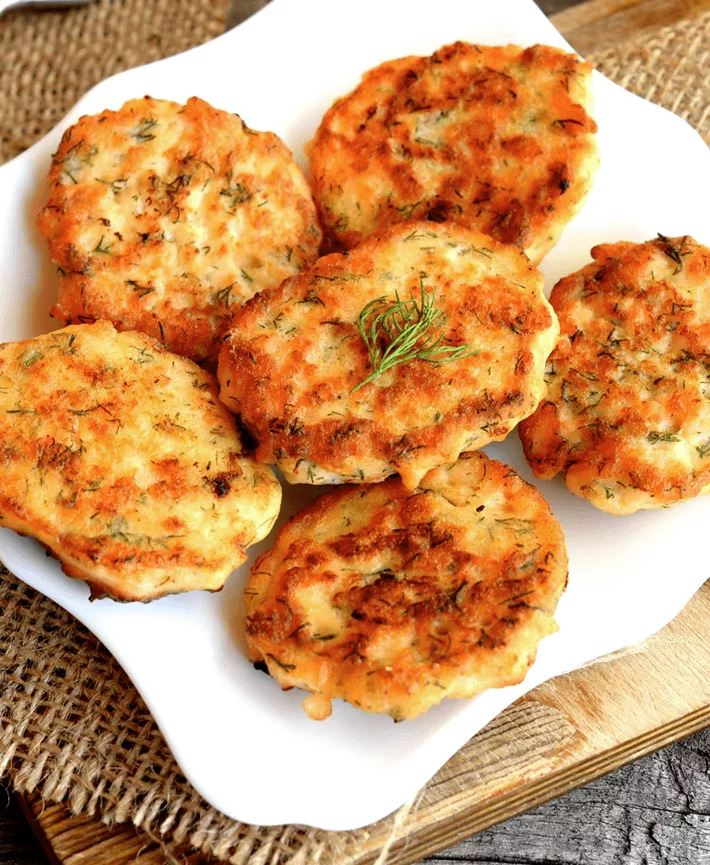 Salmon Patties with Canned Meat