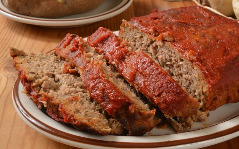 Meatloaf Bursting with Flavor