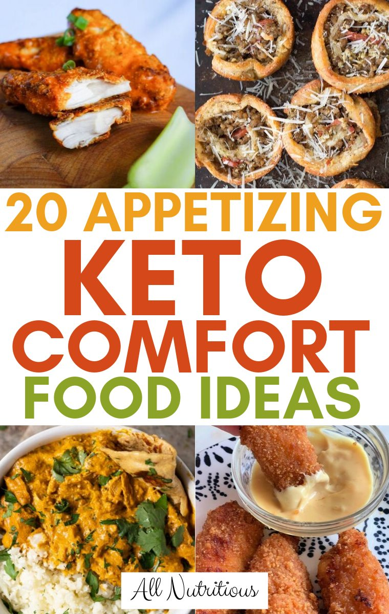 keto comfort food recipes