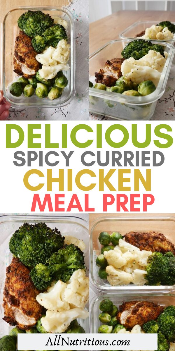 Try these spicy chicken recipe and meal prep for days. The meal is low carb and great for meal planning if you want to lose weight.