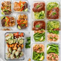 high protein meal prep
