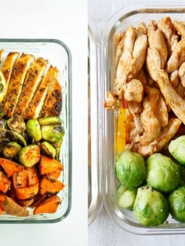 meal prep high in protein