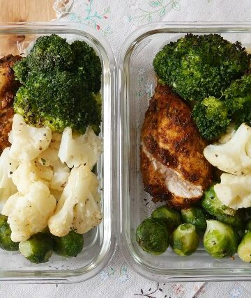 spicy chicken meal prep