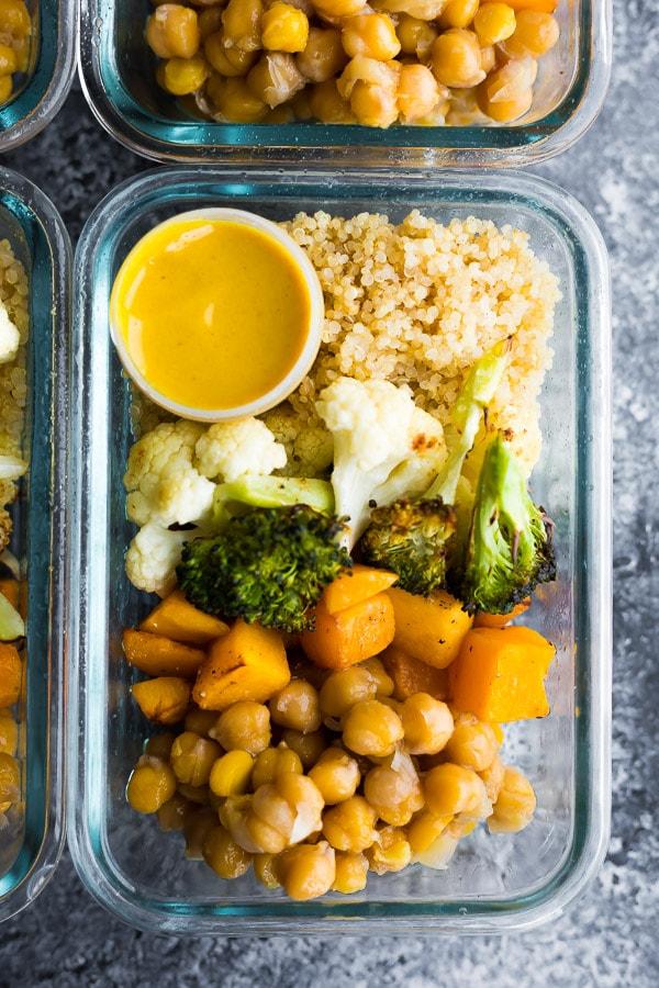 Roasted Vegetable Meal Prep