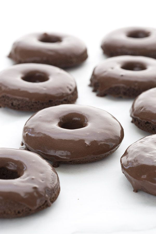 Classic Chocolate Cake Donuts
