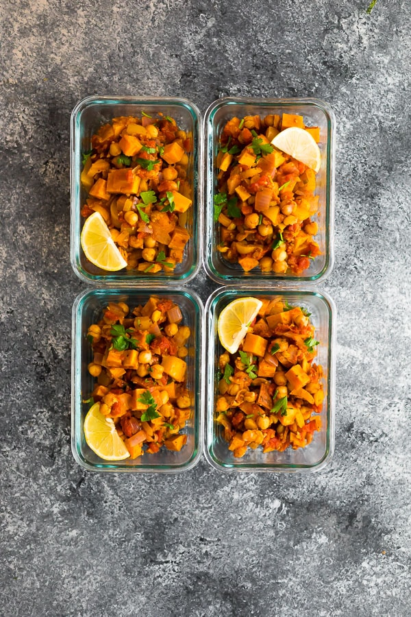 Moroccan Chickpea Skillet