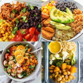 24 Super Quick Vegan Meal Prep Recipes