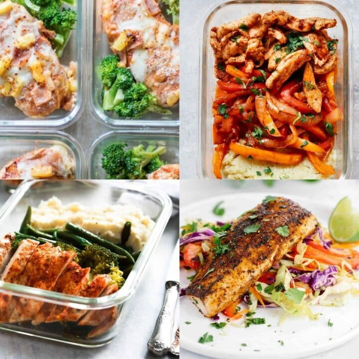 high protein lunches