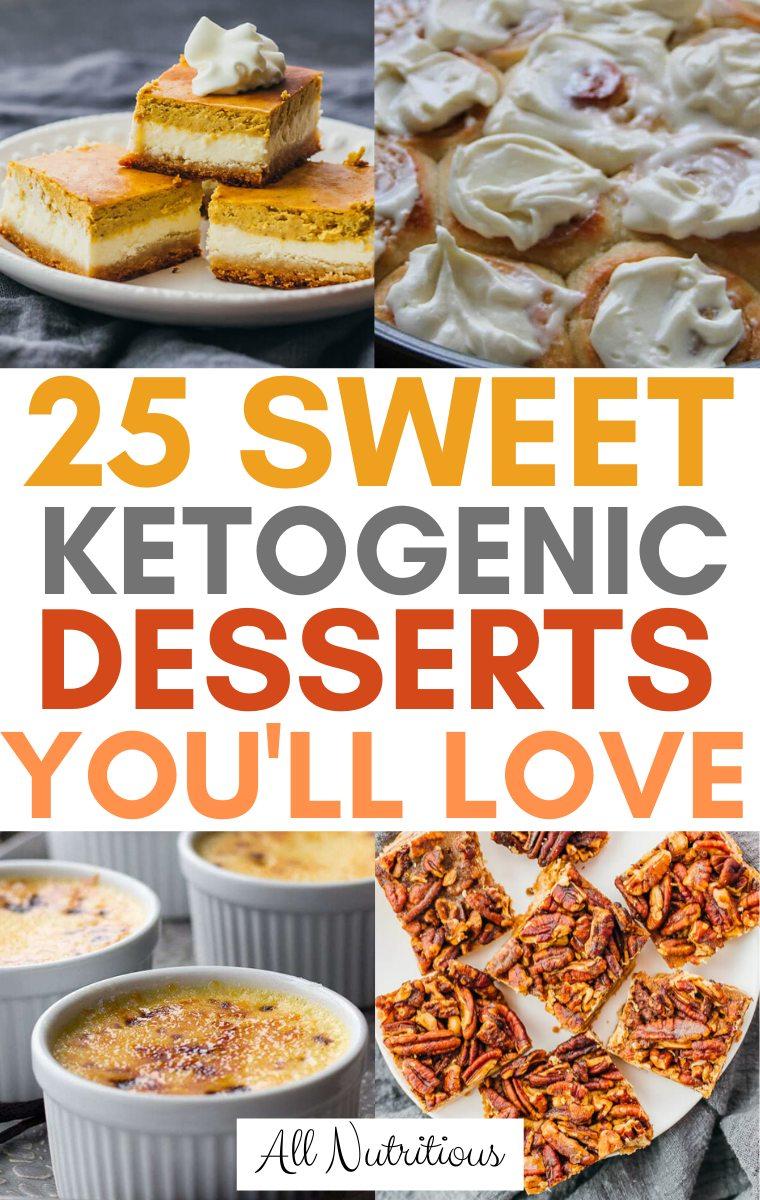 keto dessert ideas