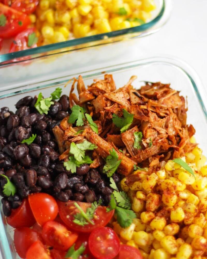 Jackfruit Enchilada Bowls