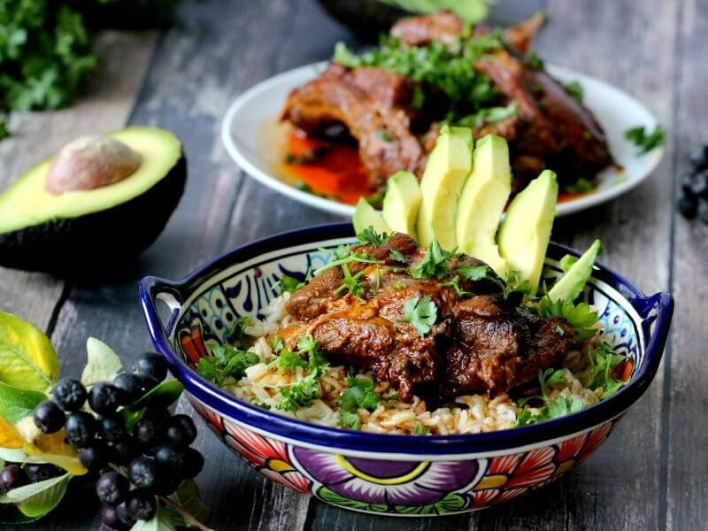 Beer Ribs Rice Bowl