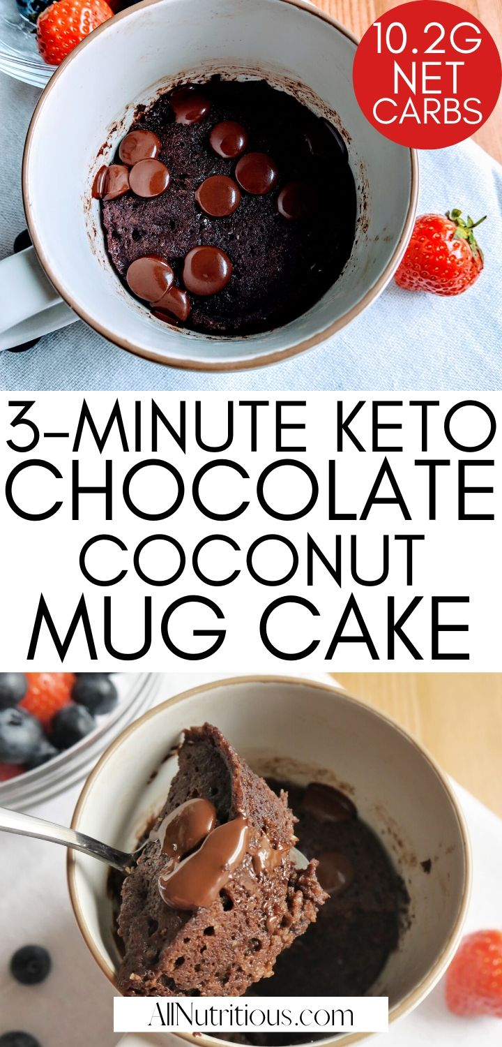 3 minute chocolate mug cake