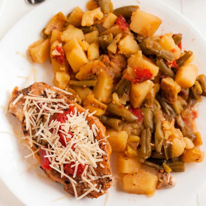 Italian Pork Chop Dinner