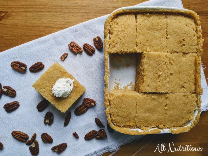 peanut butter cake keto