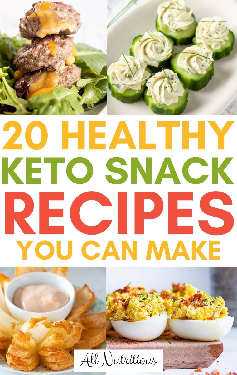 keto snack recipes