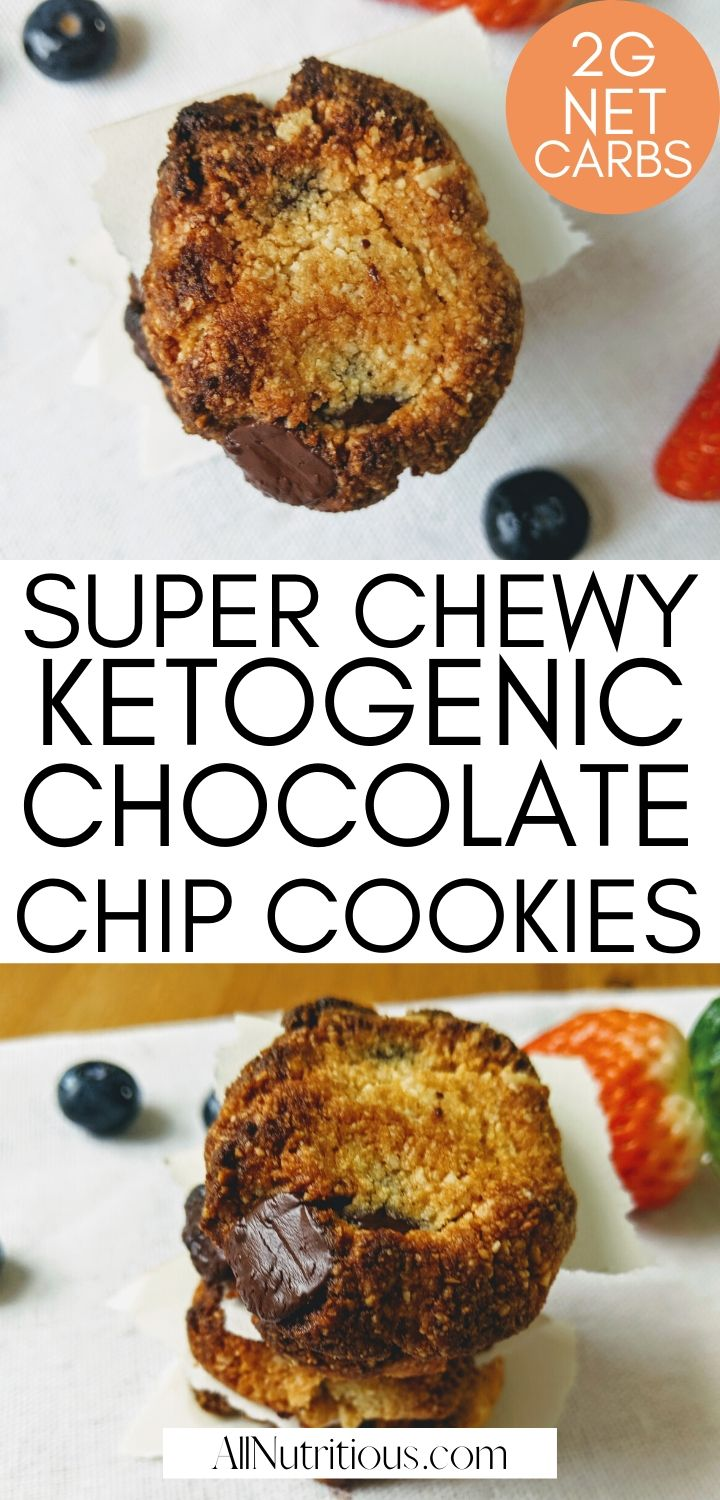 super chewy ketogenic chocolate chip cookies