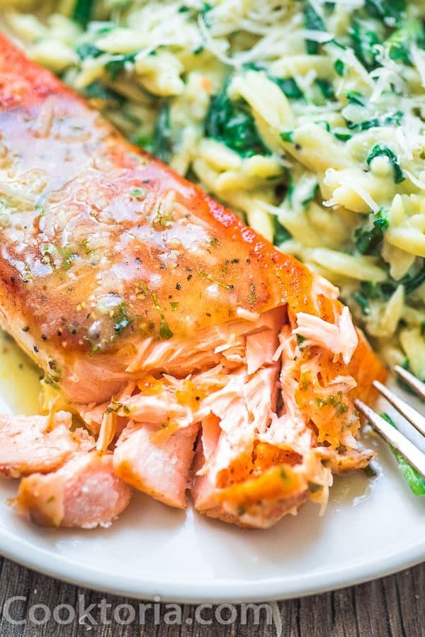 Easy Lemon Butter Salmon