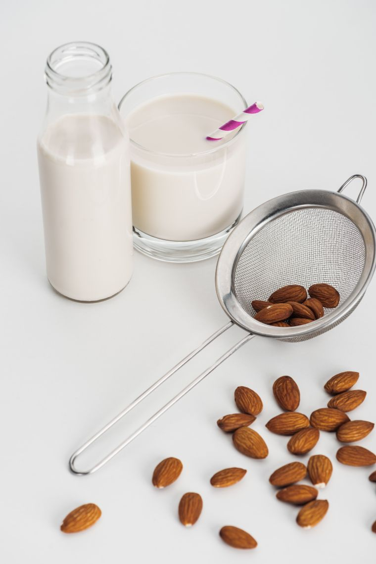 Almond milk as a ketogenic substitute for low carb recipes