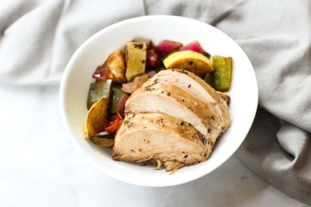 Veggie Chicken Meal Prep