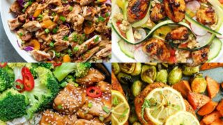 20 Easy Chicken Meal Prep Recipes