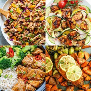 20 Easy Chicken Meal Prep Recipes