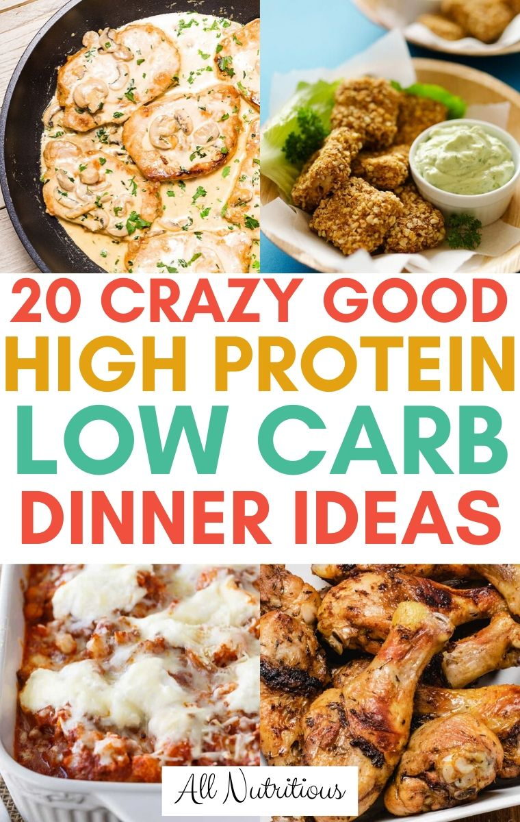 high protein low carb meals