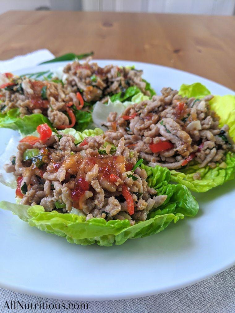 low carb lettuce wraps