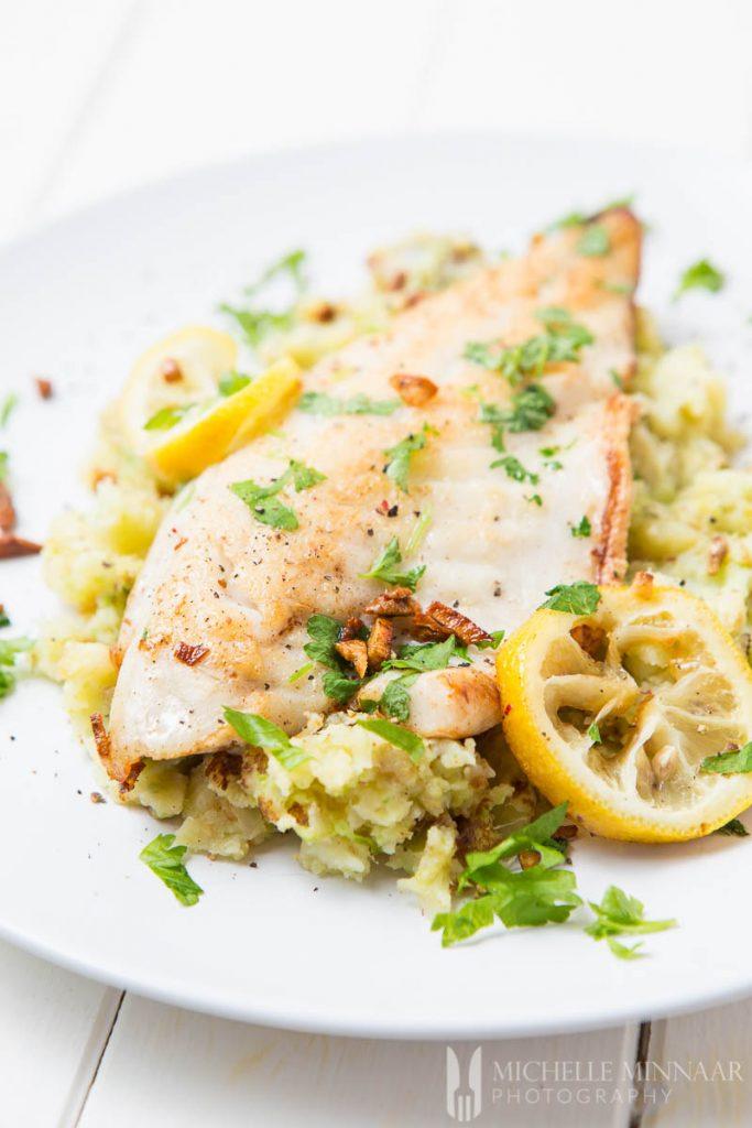 Pan-Fried Seabass