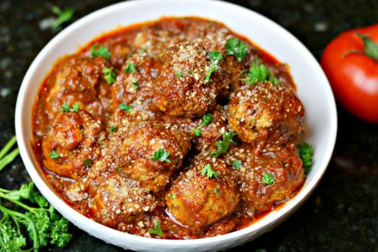 Easy Keto Italian Sausage Meatballs