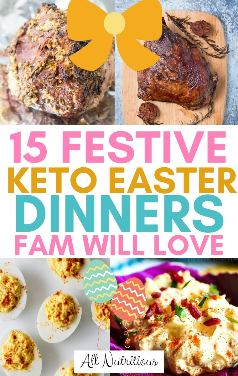 ketogenic easter dinners