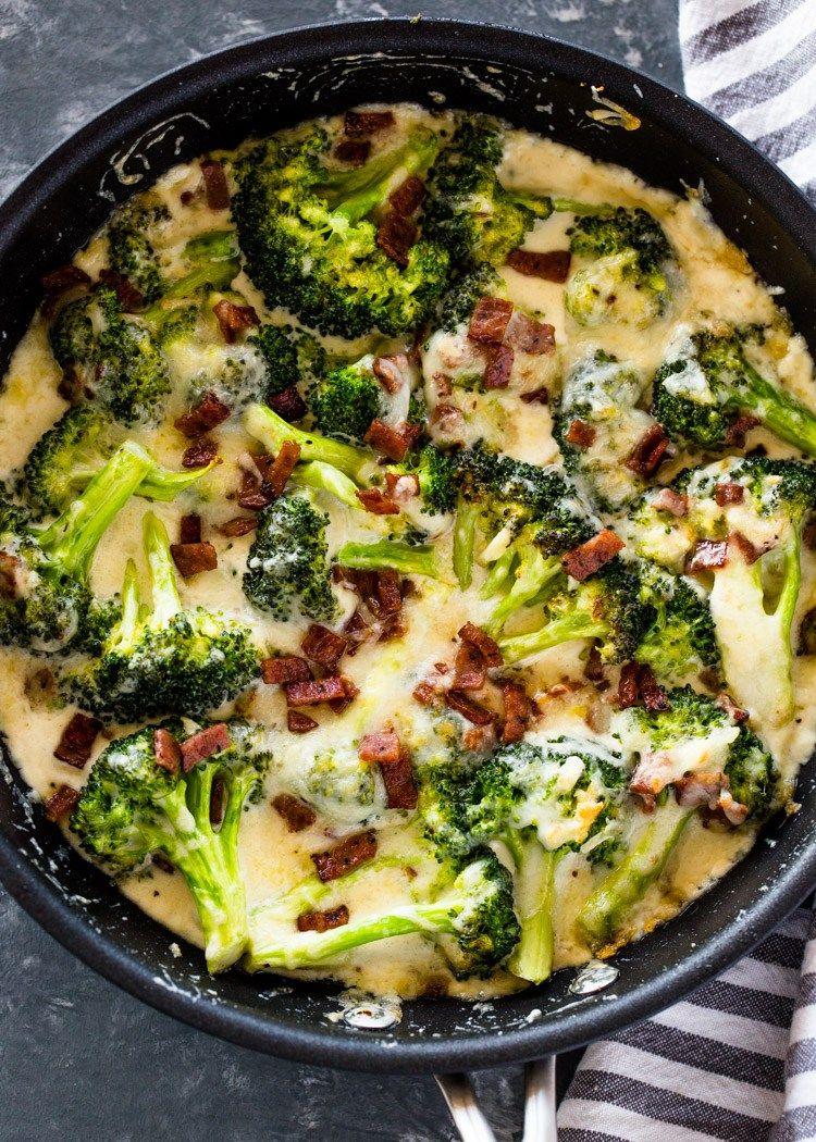 Creamy Broccoli dish