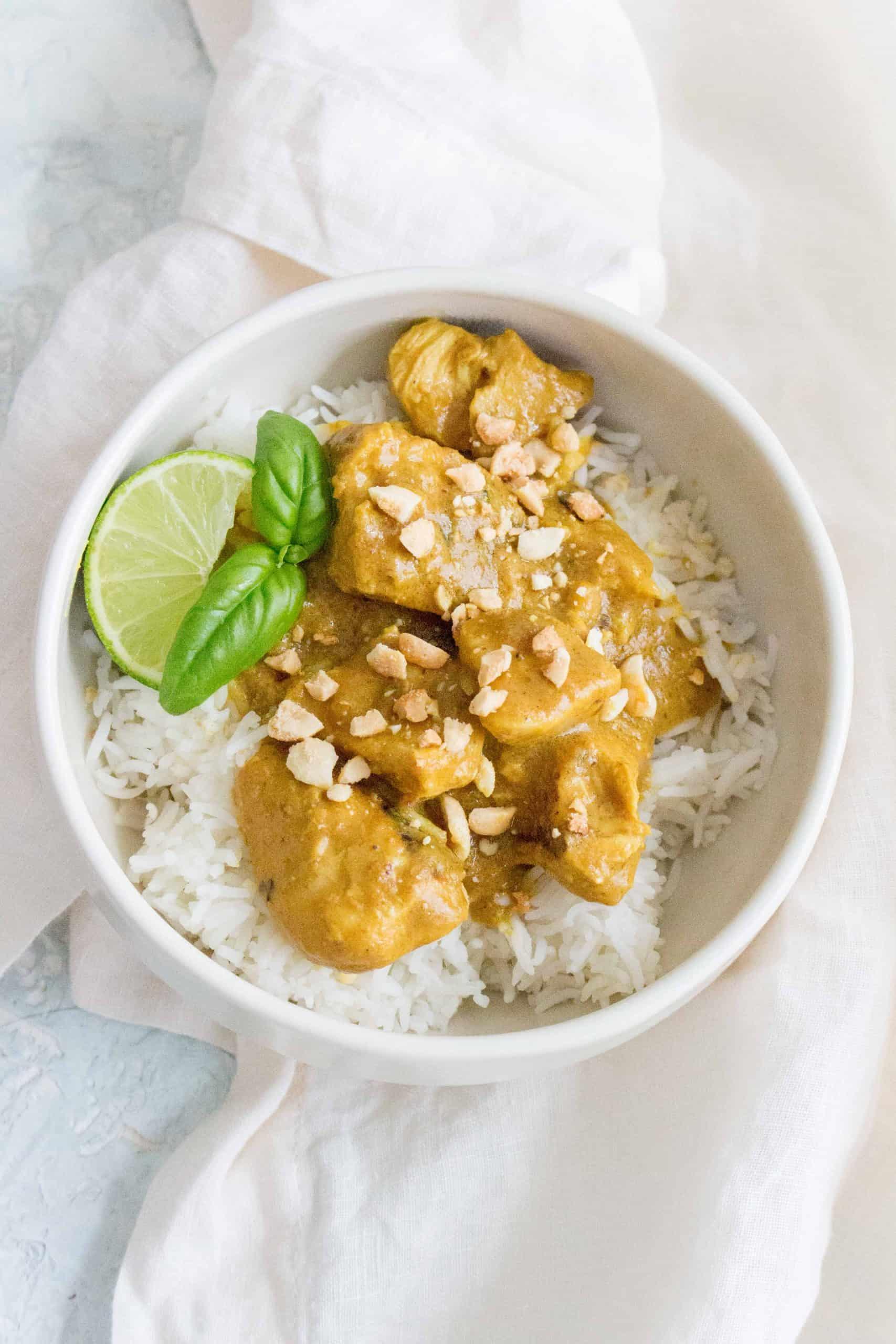 Chicken Peanut Satay