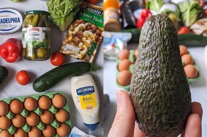 Ketogenic shopping list