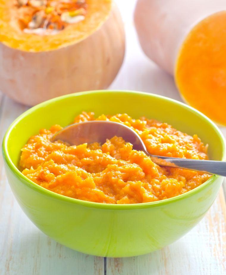 Butternut Squash rice in a bowl