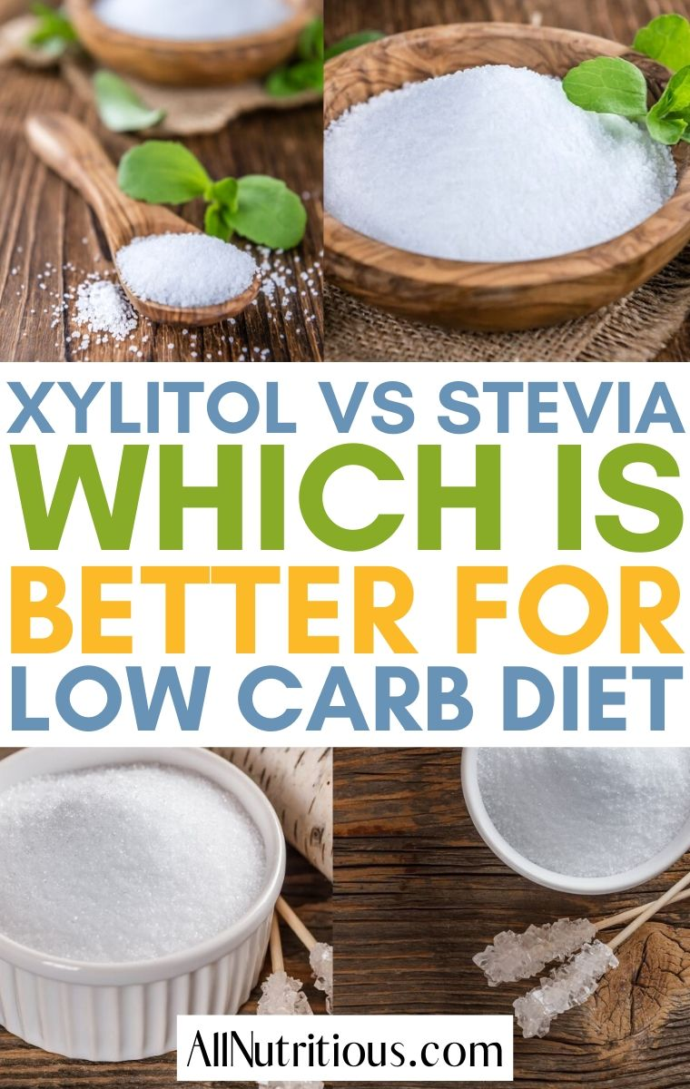 xylitol and stevia sweetener