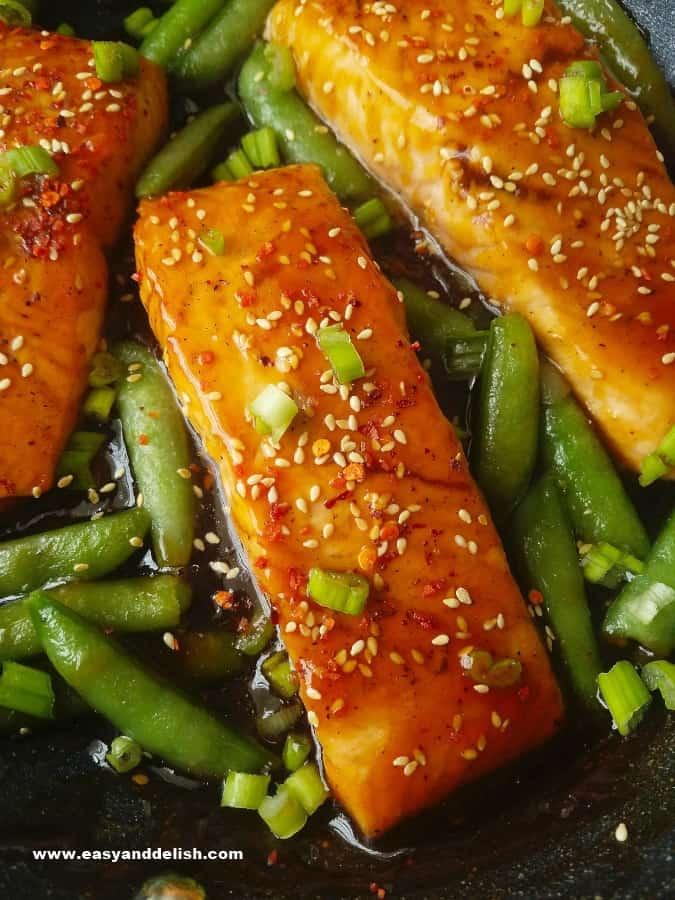 Sriracha Teriyaki Salmon