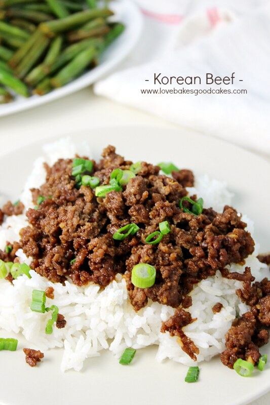 Korean Beef Recipe