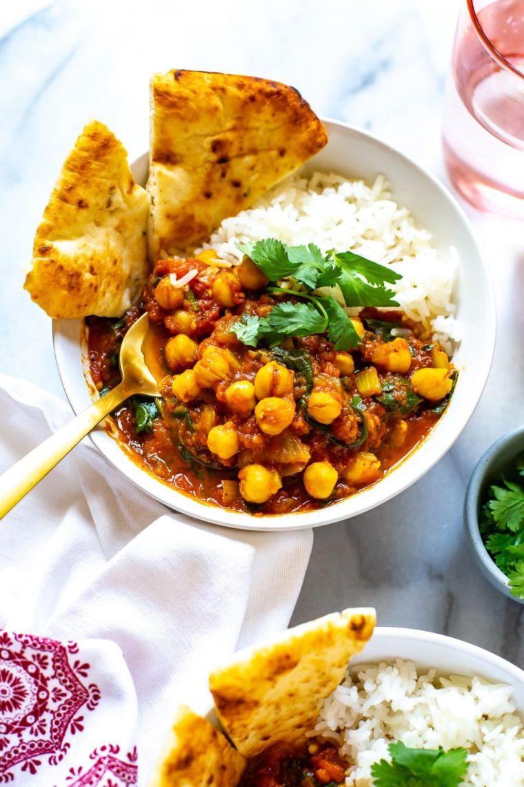 Instant Pot Chickpea Chana Masala
