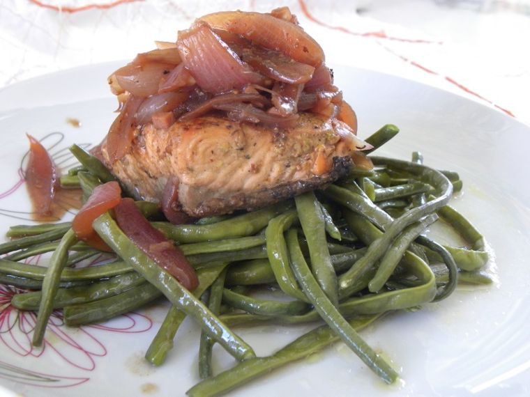 Stewed Salmon