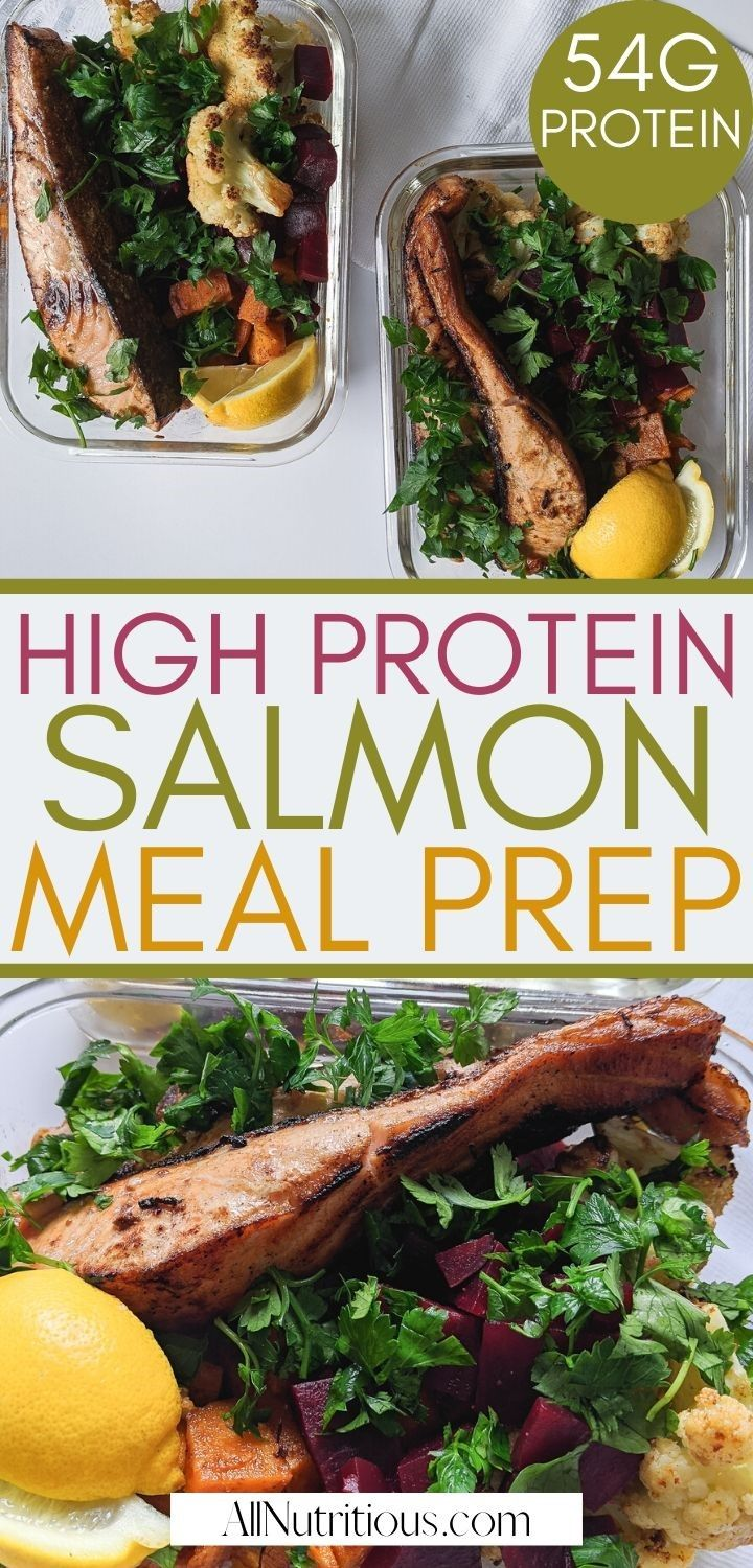 high protein salmon meal