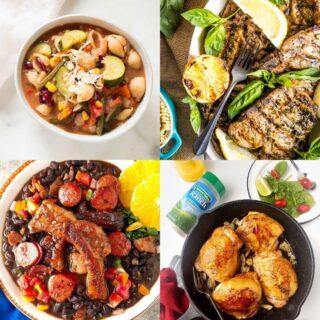 20 High Protein Freezer Meals