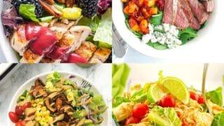 20 High Protein Salads That Aren't Boring