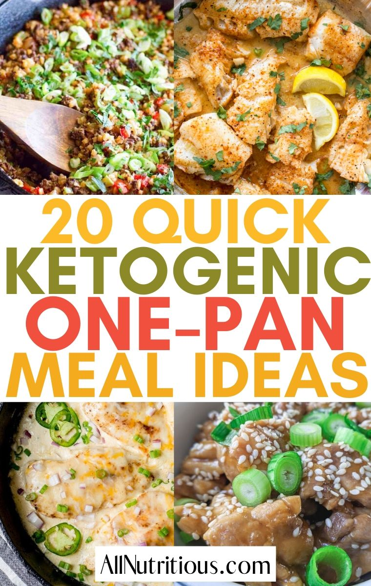 keto one pan meals