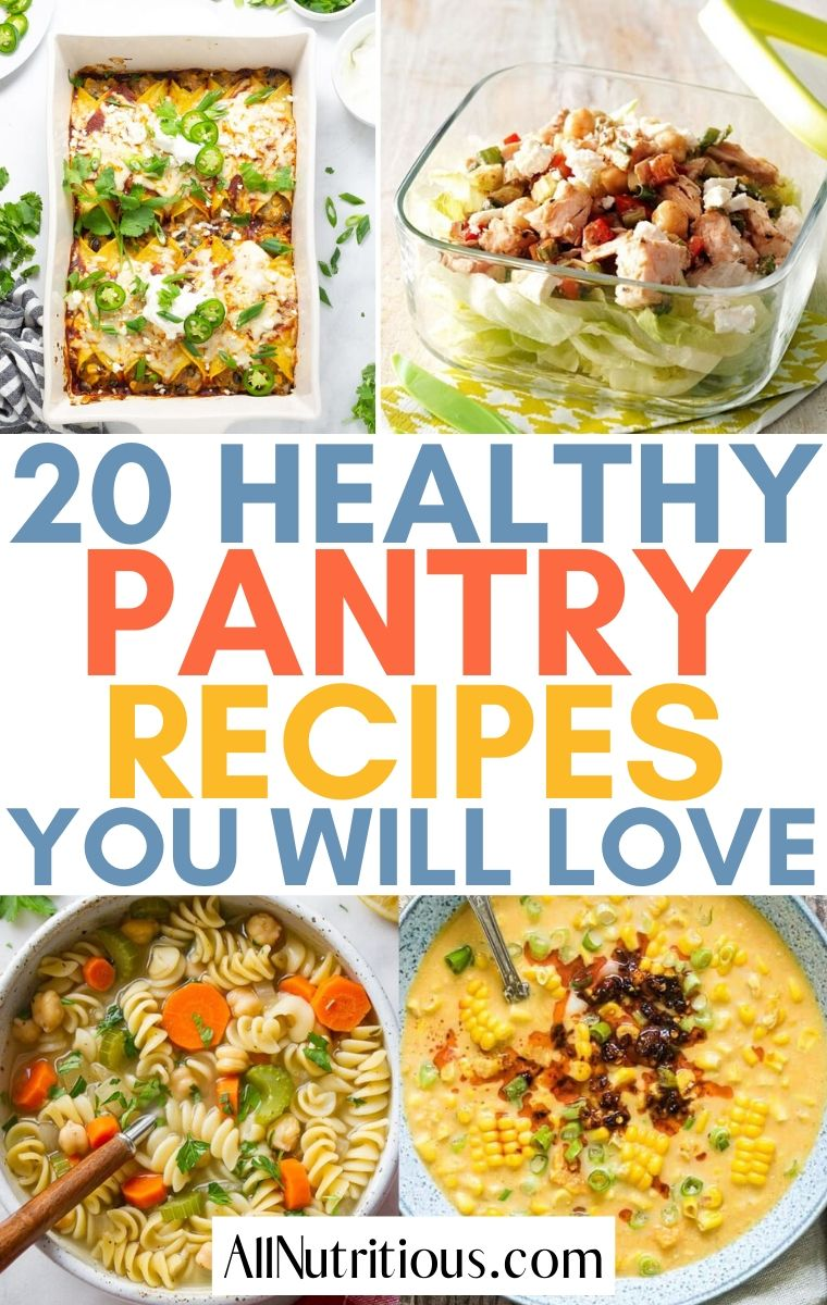 pantry meal ideas