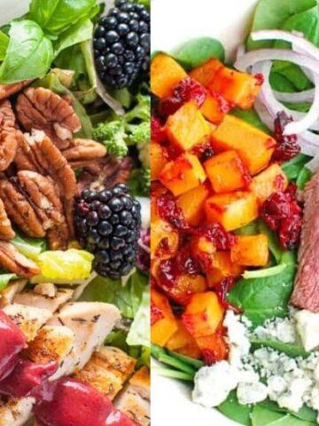 high protein salads